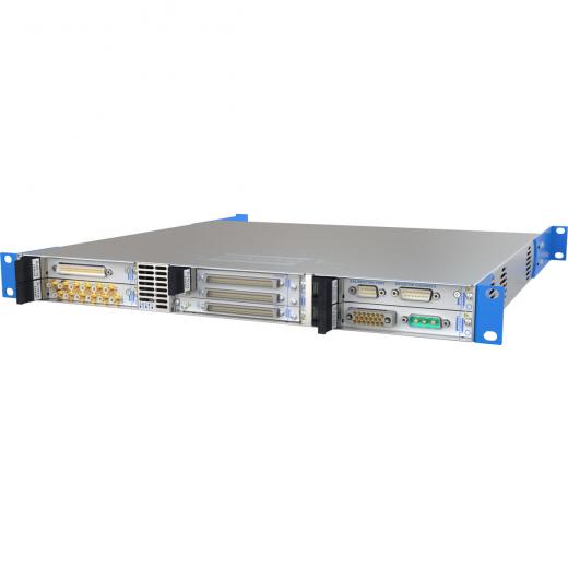 6槽 USB/LXI 模块化机箱插图