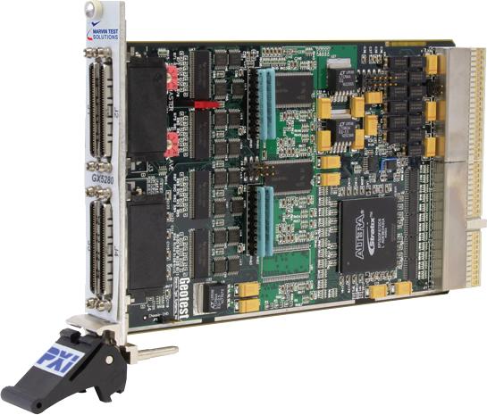 GX5280系列:动态控制高速数字I/O PXI 板卡插图