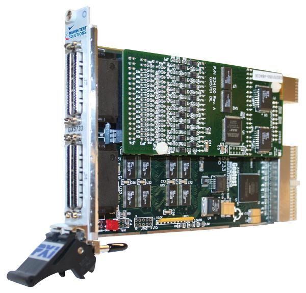 GX5733:128通道数字I/O模块化PXI板卡插图