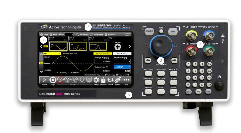 AWG-2000 任意波形发生器