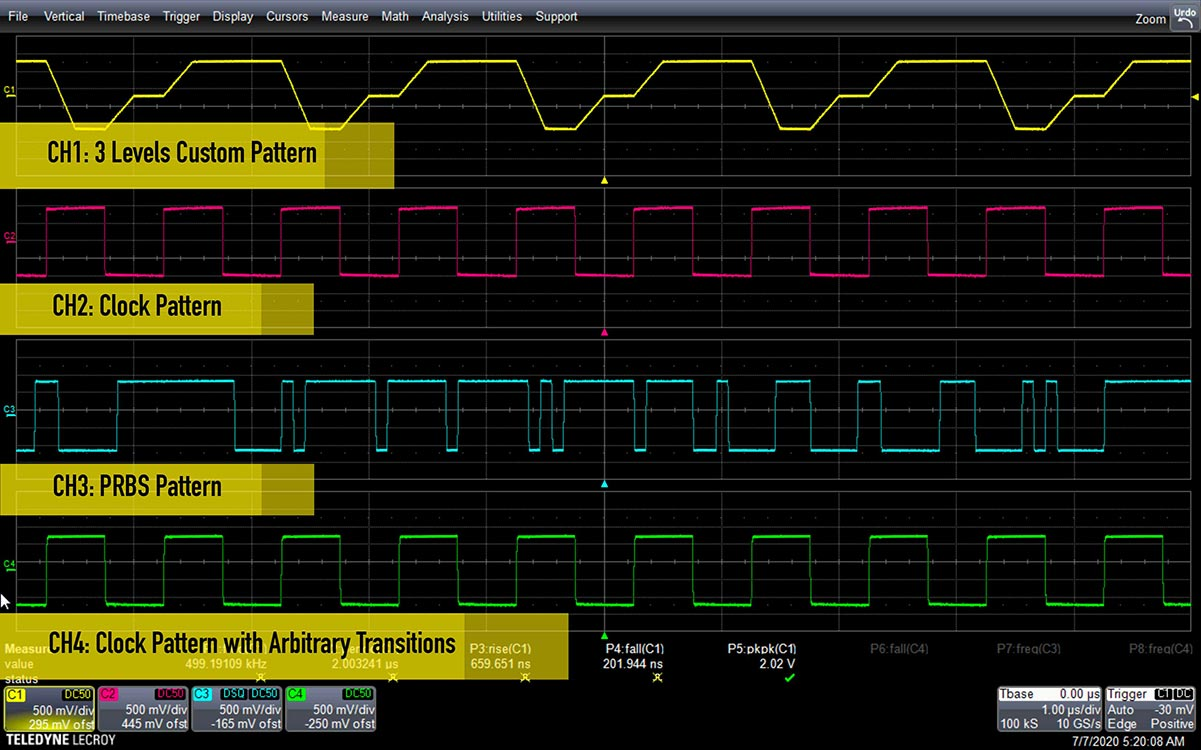 ArbRider-AWG4000 任意波形发生器插图3
