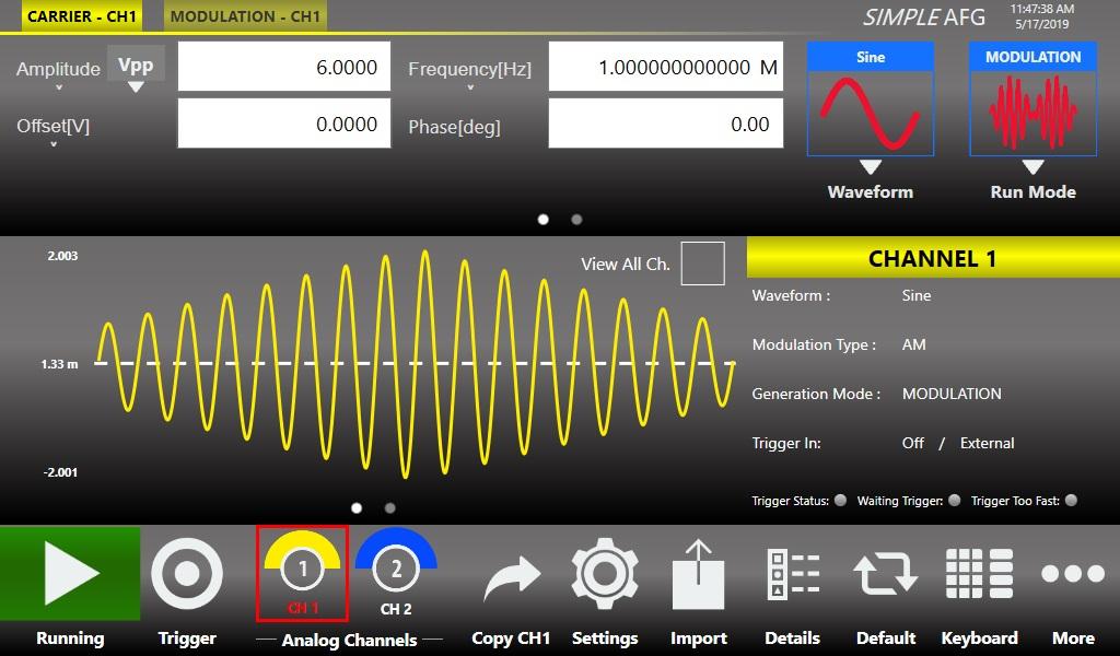 ArbRider AWG2000 任意波形发生器插图3