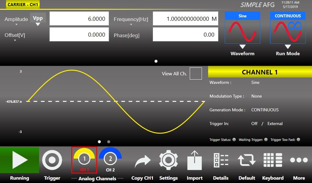 ArbRider AWG2000 任意波形发生器插图2