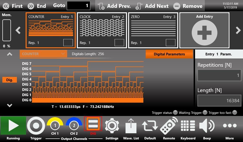 ArbRider AWG2000 任意波形发生器插图5