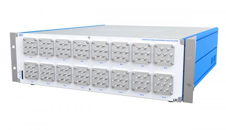 LXI高性能微波多路复用开关插图