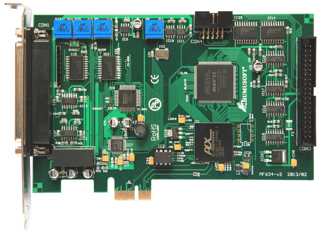 MF634 数据采集卡 多功能IO卡